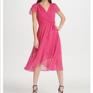 DKNY Hi-Lo Dress